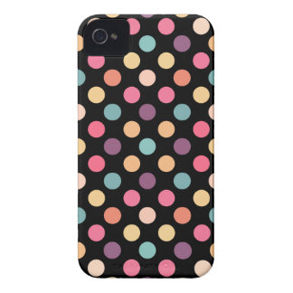 Lovely Dots Pattern XII iPhone 4 Case-Mate Cases