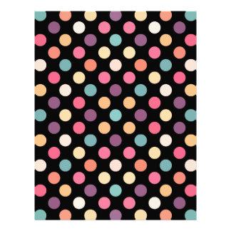 Lovely Dots Pattern XII Letterhead