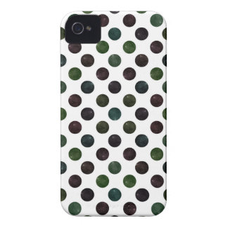 Lovely Dots Pattern XIII iPhone 4 Cover