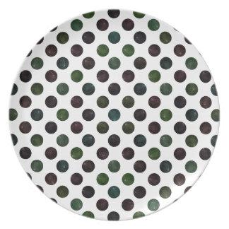 Lovely Dots Pattern XIII Plate