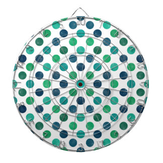 Lovely Dots Pattern XIV Dartboard