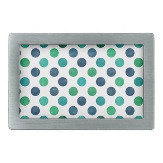 Lovely Dots Pattern XIV Rectangular Belt Buckles