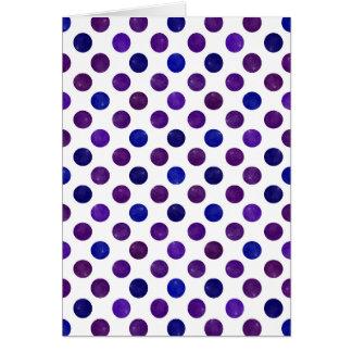 Lovely Dots Pattern XV Card
