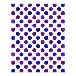 Lovely Dots Pattern XV Letterhead
