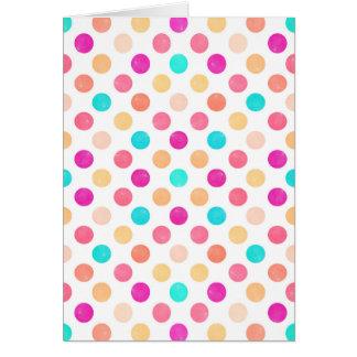 Lovely Dots Pattern XVI Card