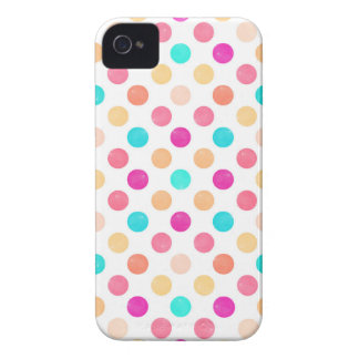 Lovely Dots Pattern XVI Case-Mate iPhone 4 Cases