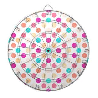 Lovely Dots Pattern XVI Dartboard