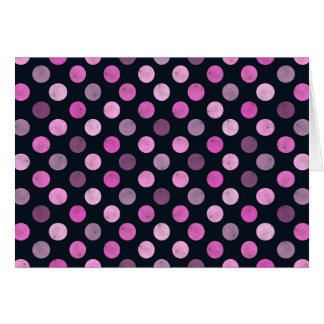 Lovely Dots Pattern XVII Card