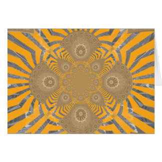 Lovely Edgy  amazing symmetrical pattern design Card