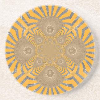 Lovely Edgy  amazing symmetrical pattern design Coaster