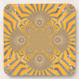 Lovely Edgy  amazing symmetrical pattern design Coasters