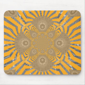 Lovely Edgy  amazing symmetrical pattern design Mouse Pad