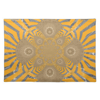 Lovely Edgy  amazing symmetrical pattern design Placemat