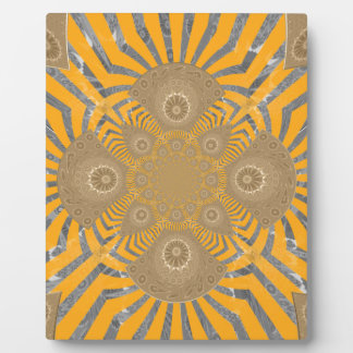 Lovely Edgy  amazing symmetrical pattern design Plaque