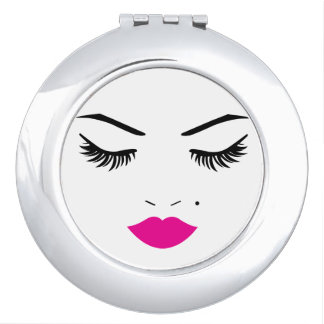 Lovely Face Makeup Mirror