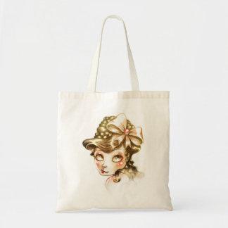 Lovely face tote bag