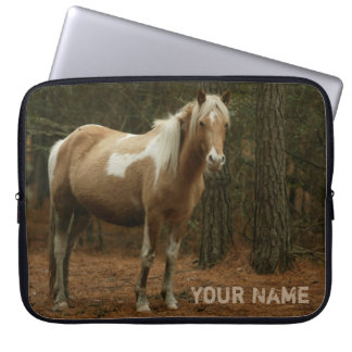 Lovely Feral Horse Neoprene Laptop Sleeve 15""