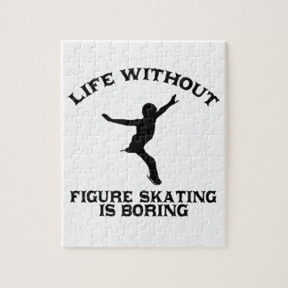 Lovely Figure Skating DESIGNS Jigsaw Puzzle