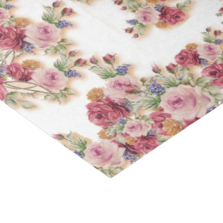 Lovely Floral Tissue Paper