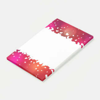 Lovely Flying Hearts Border - Post-it® Notes