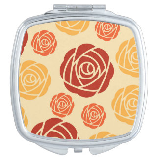 Lovely Fun Pattern Brilliant Travel Mirrors