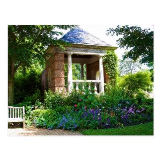 Lovely Gazebo Garden Postcard