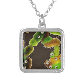 Lovely Germs - Silver Plated Necklace