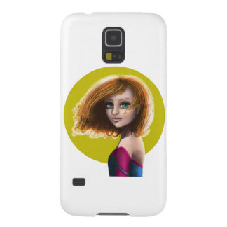 Lovely girl case for galaxy s5