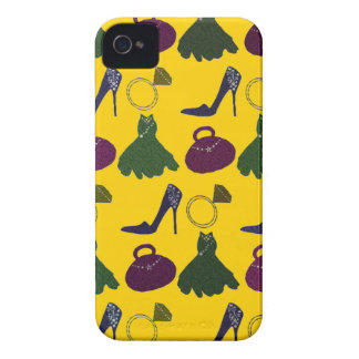 Lovely Girly Apparel Pattern iPhone 4 Cover