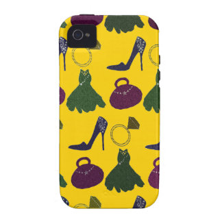 Lovely Girly Apparel Pattern iPhone 4/4S Cover