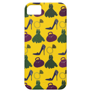 Lovely Girly Apparel Pattern iPhone 5 Cases