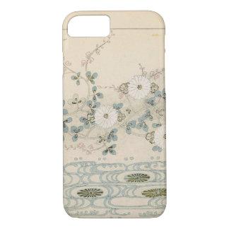 Lovely Gray Japanese Design iPhone 7 Case