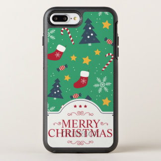 Lovely Green Christmas Ditsy | Phone Case