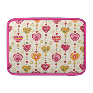 LOVELY HEART DESİGN FOR MACBOOK AİR MacBook SLEEVES