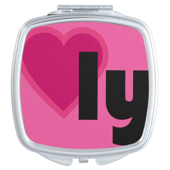 Lovely Heart Mirrors For Makeup