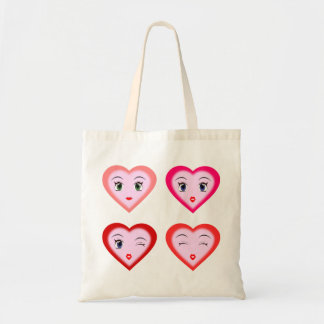 Lovely Hearts Tote Bag