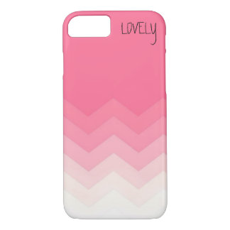 LOVELY IN PINK iPhone 7 CASE