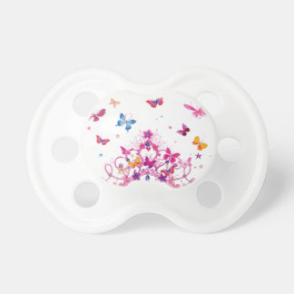 Lovely Infinity Butterfly Baby Pacifiers