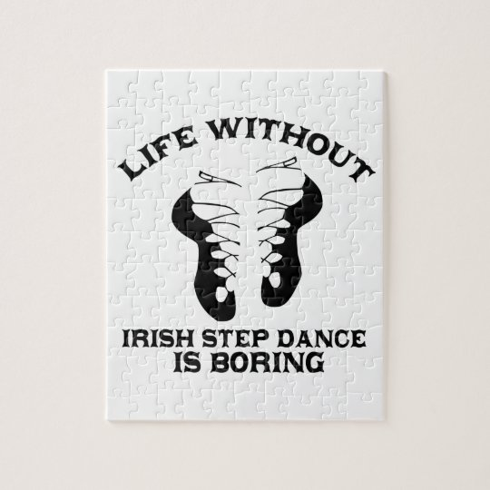 Lovely Irish Step dance DESIGNS Jigsaw Puzzle