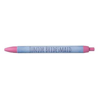 Lovely Junior Bridesmaid Black Ink Pen