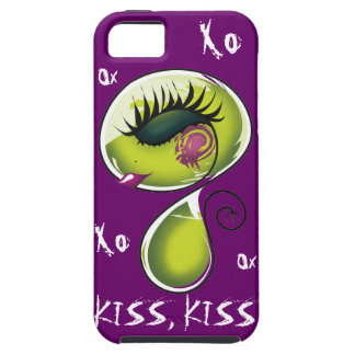 Lovely Kiss Kiss Monster Case iPhone 5 Cover