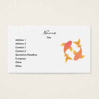 Lovely Koi Business Card