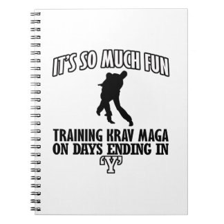 LOVELY Krav Maga designs Notebook