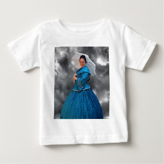 Lovely Lady in blue living in the 1860's Baby T-Shirt
