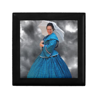 Lovely Lady in blue living in the 1860's Gift Box