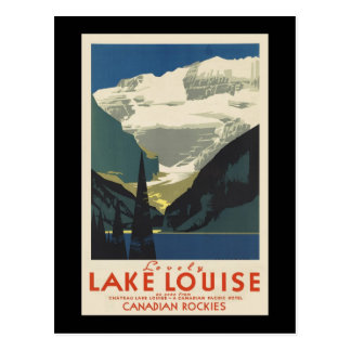 Lovely Lake Louise Postcard