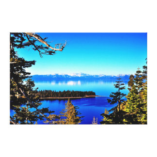 LOVELY LAKE TAHOE CANVAS PRINT