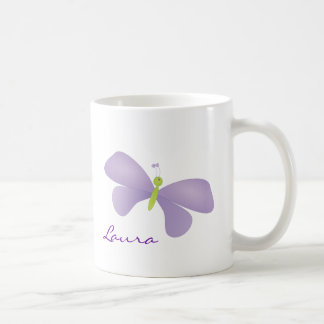 Lovely Laura Butterfly Coffee Mug