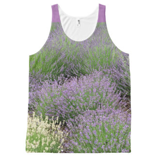 Lovely Lavender All-Over-Print Tank Top