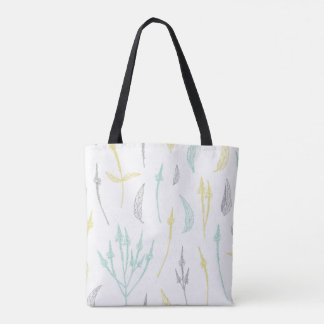 Lovely leaves and twigs tote bag